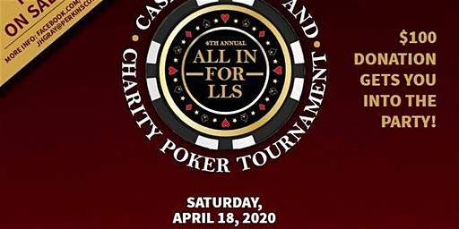 4th Annual All-in for LLS Casino Night & Poker Tournament