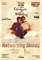 Melanoid Exchange's Changing The Narrative Black History Month Shindy