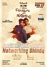 Melanoid Exchange's Changing The Narrative Black History Month Shindy tickets