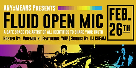 Fluid Open Mic tickets