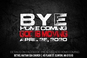 B.Y.E. Homecoming - God is Moving