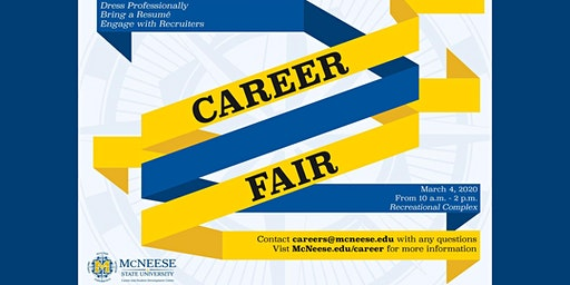 McNeese State University - Career Fair