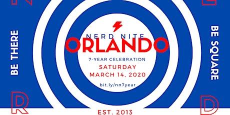 Nerd Nite Orlando - 7-YEAR CELEBRATION tickets