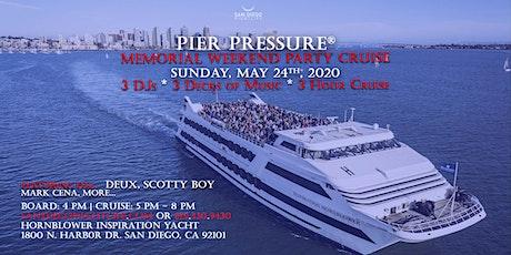San Diego Memorial Weekend Pier Pressure Mega Yacht Party tickets