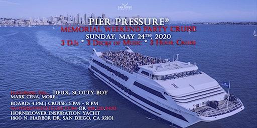 San Diego Memorial Weekend Pier Pressure Mega Yacht Party