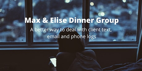 Max & Elise Dinner Group tickets