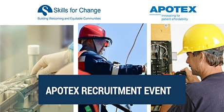 APOTEX RECRUITMENT EVENT tickets