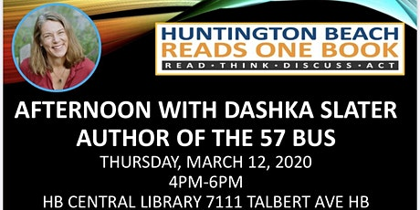 Afternoon With Author Dashka Slater Fundraising Event tickets