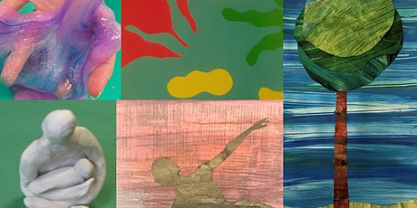 Masters in Clay, Canvas & Collage Mini Camp (5-12 Years) tickets