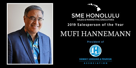 Salesperson of the Year Mufi Hannemann tickets