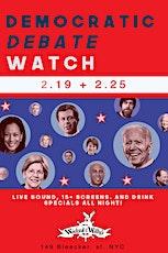 Democratic Debate Watch 02.25.20 tickets