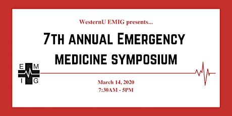 WesternU EMIG 7th Annual Emergency Medicine Symposium tickets
