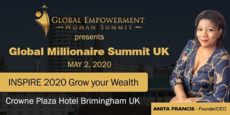 Global Millionaire Summit UK 2020 tickets