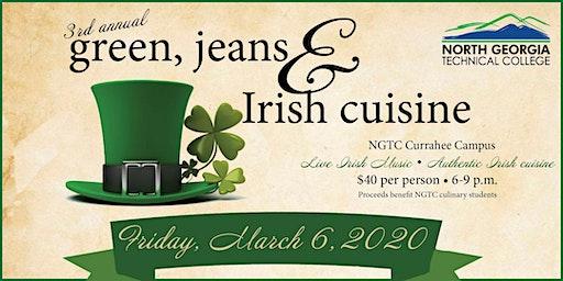 Green, Jeans and Irish Cuisine