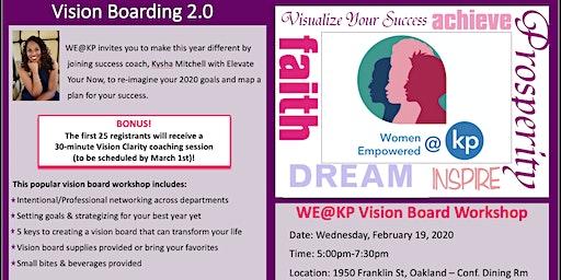 WE@KP Vision Board Workshop