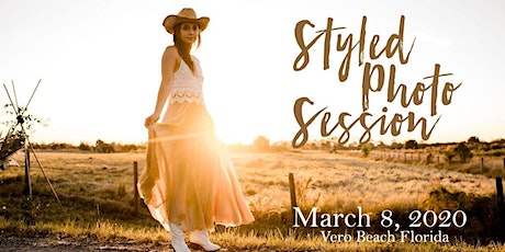 Styled Photo Session  March 8, 2020 tickets