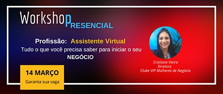 Profissão - Assistente Virtual ingressos