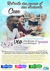 Retraite des jeunes et des étudiants - Caen tickets