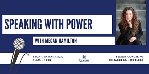 Speaking with Power with Megan Hamilton