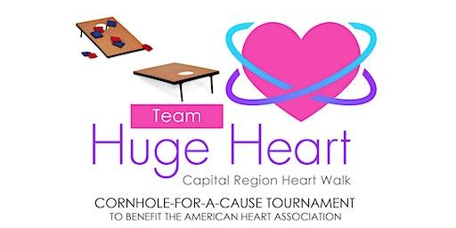 3rd Annual Team Huge Heart Cornhole for a Cause Tournament