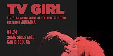 TV GIRL, Jordana tickets