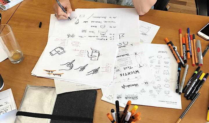 Sketchnotes für Fortgeschrittene – Workshop: Bild