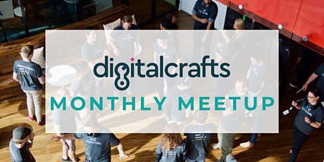 DigitalCrafts Monthly Meetup: Learn About Our Career Services tickets