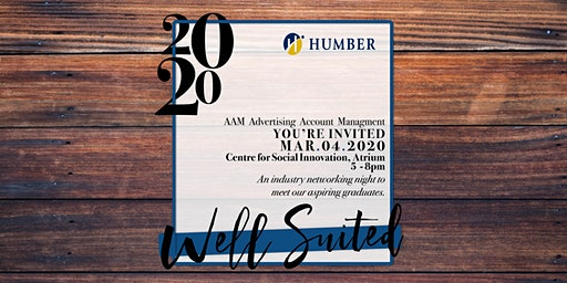 Well Suited 2020//Advertising Account Management Event//Humber College