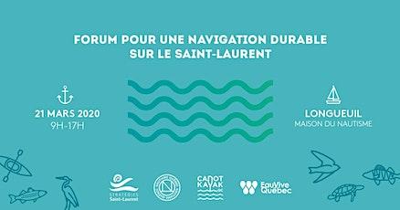 Forum pour une navigation durable sur le Saint-Laurent billets