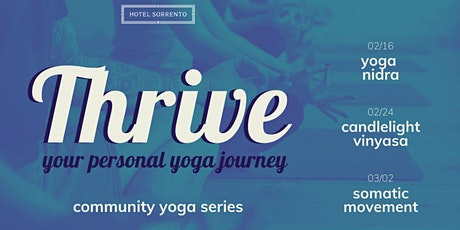 Thrive: Your Personal Yoga Journey tickets