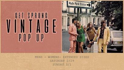 Get Sprung - A Vintage Pop Up! tickets