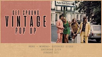Get Sprung - A Vintage Pop Up!