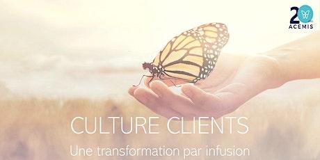 Culture client : une transformation par infusion tickets
