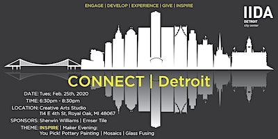 CONNECT | Detroit: Maker Evening at Creative Arts Studio