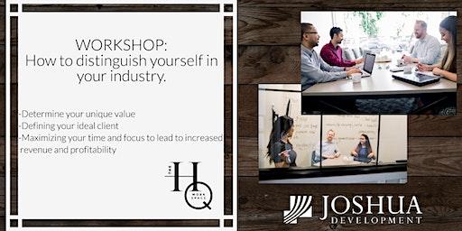 Professional Development Workshop with Joshua Development