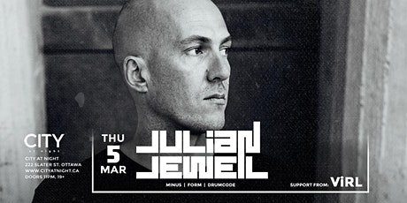 Julian Jeweil (Drumcode) at City At Night tickets