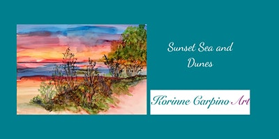 Alcohol Ink Painting Workshop- Sunset Sea and Dunes