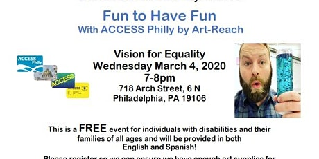 Fun to Have Fun with ACCESS Philly Program and Art Demo tickets