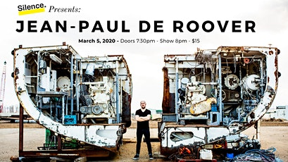 Silence Presents: Jean-Paul De Roover tickets