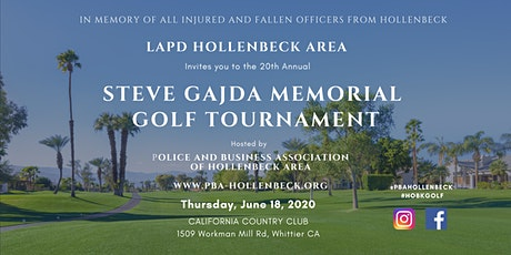 20th Annual Officer Steve Gajda Memorial Golf Tournament tickets