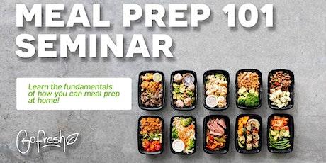 Meal Prepping Seminar tickets