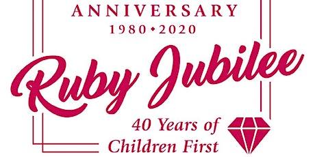 Ruby Jubilee - 40th Anniversary Celebration tickets
