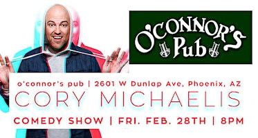 Cory Michaelis in Phoenix, Arizona at O'Connor's Pub