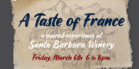 Taste of France: Food & Wine Pairing tickets