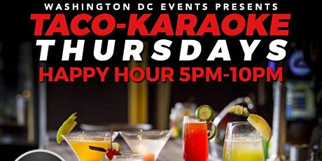 Lost Society DC  Tacos & Karaoke Thursday Happy Hour tickets