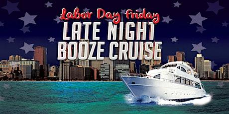 Labor Day Friday Late Night Booze Cruise aboard Navy Pier Spirit tickets