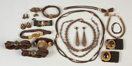 """Hands on History: Victorian """"Hair"""" Jewelry tickets"""