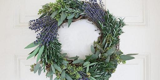 Herbs de Provence Spring Wreath