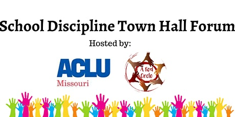 School Discipline Town Hall Forum tickets