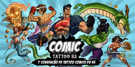 Comic Tattoo RS ingressos